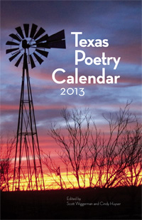 2013 Texas Poetry Calendar cover