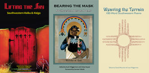 Three Covers: Lifting the Sky, Bearing the Mask, and Weaving the Terrain