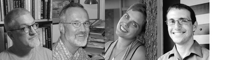 Dos Gatos Press Editors Scott Wiggerman, David Meischen, Allyson Whipple, and Wade Martin