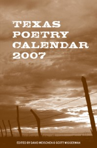 Texas Poetry Calendar 2007