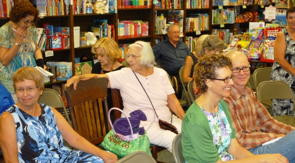 Audience for this year's Blue Willow Reading