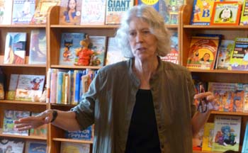 Poet and presenter Wendy Barker