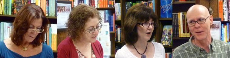 Poets Sue Foster, Dede Fox, Laura Guidry, & Jerry Hamby