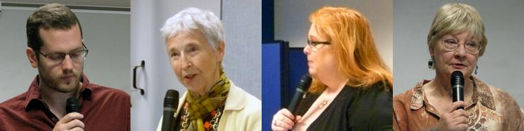 Poets Graham Oliver, Jane Cocke Perdue, Sheree Rabe, & Elizabeth Raby