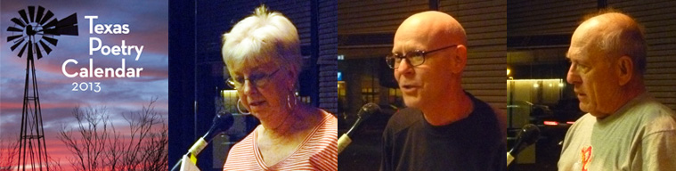 Poets Kay Cox, Jerry Hamby, & Larry Kelly.