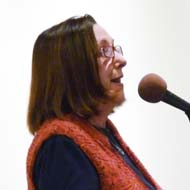 Poet Sandra Soli