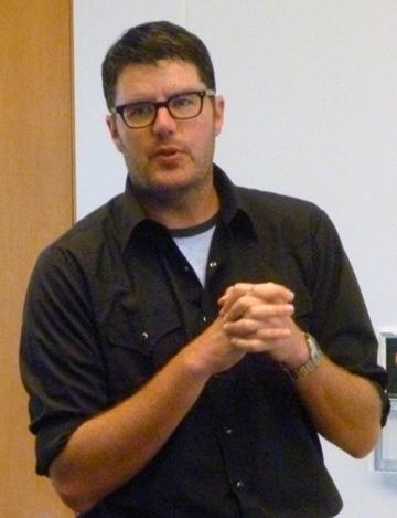 Poet Dean Rader