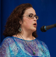 Poet Laura Peña