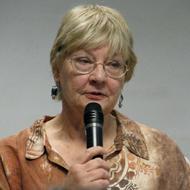 Poet Elizabeth Raby