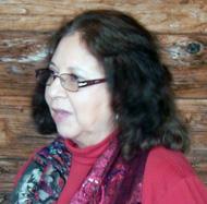 Poet Gloria Amescua